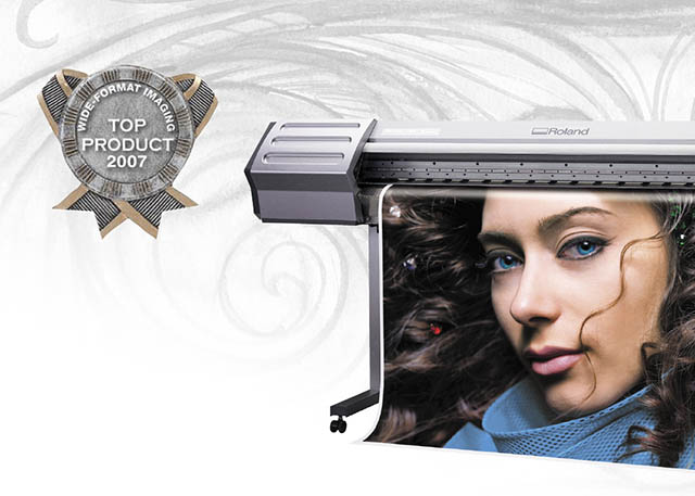 "2007 The SOLJET product line is once again named ""Top Products of the Year"" by Wide Format Imaging Magazine."