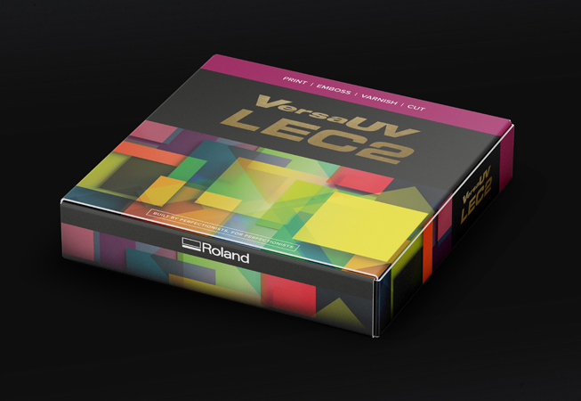 Colourful folding carton packaging prototype